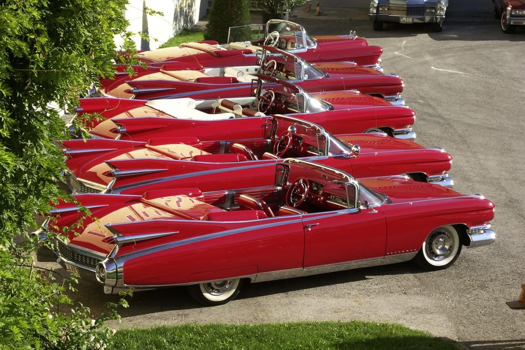 Cadillac Cabrios aus dem Jahr 1959
