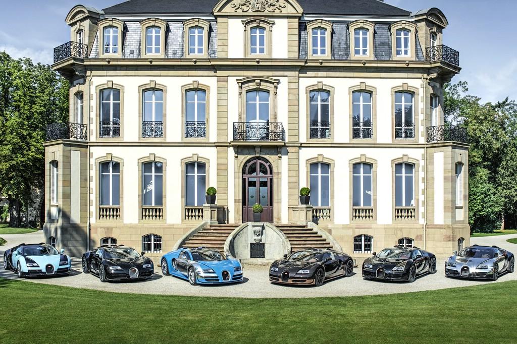 Bugatti Sondermodelle sechs an der Zahl