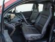 Der BMW i3 Fahrer sitzt sehr hoch