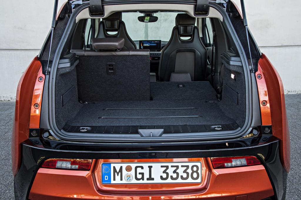 Bis zu 1100 Liter passen im BMW i3