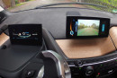 Die beiden Monitore auf Armaturenbrett des BMW i3