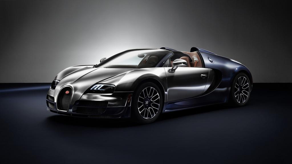 Außenaufnahme von dem Supersportwagen Bugatti Veyron 16.4 Grand Sport Vitesse Ettore Bugatti
