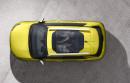 Citroen Cactus C4 mit Panoramadach und in der Farbe Hello Yellow