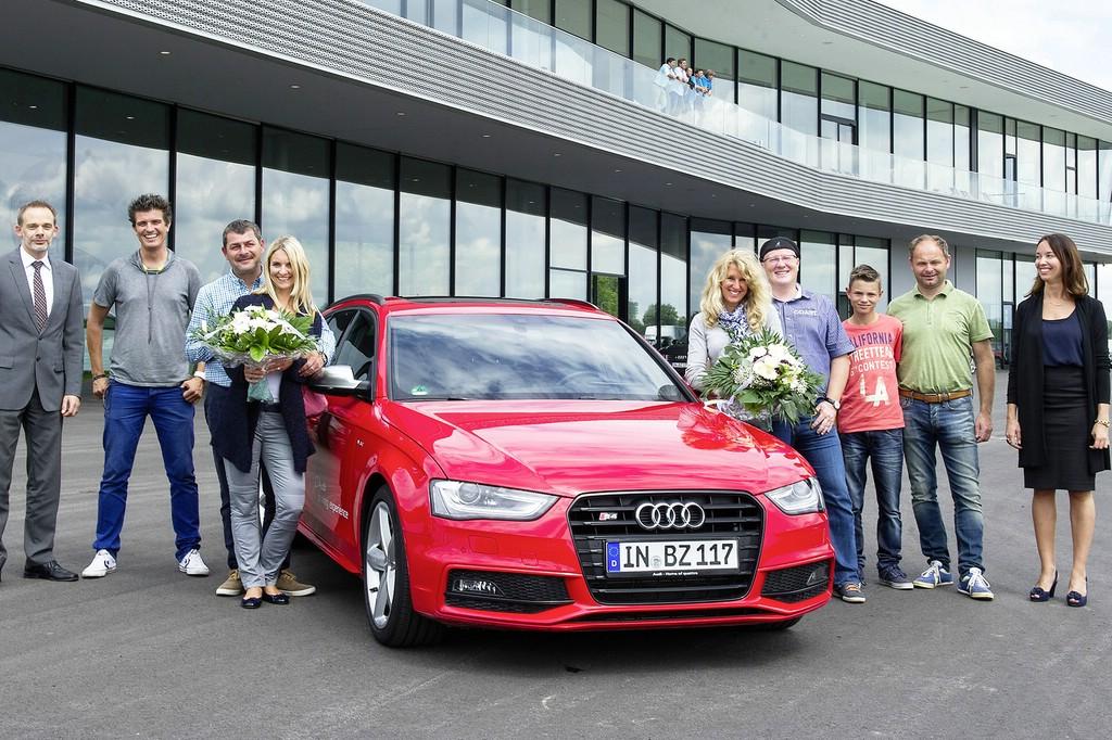 Fahrzeugauslieferung bei Audi in Ingolstadt