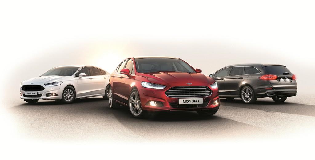 Ford Mondeo Modellgeneration 2015 als Kombi und Limousine