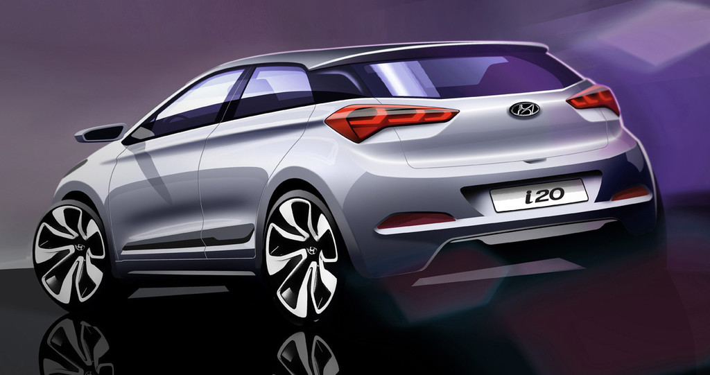 Hyundai i20 der zweiten Generation