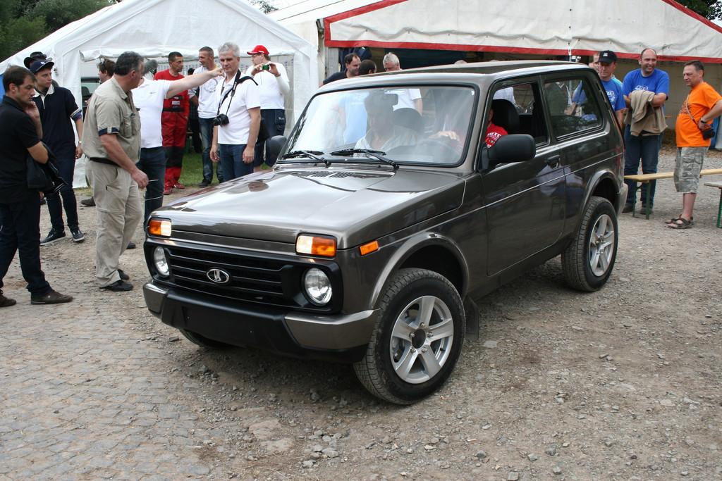 Vorstellung des Sondermodells Lada 4x4 Urban