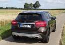 Heckaufnahme von der Mercedes-Benz GLA Edition 1