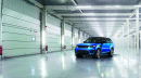 Der Range Rover Sport SVR SUV steht auf 22 Zoll Felgen