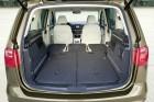 Der Gepäckraum des Seat Alhambra 2.0 TDI mit 177 PS