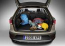 Der Gepäckraum des Seat Leon X-perience schluckt 587 Liter