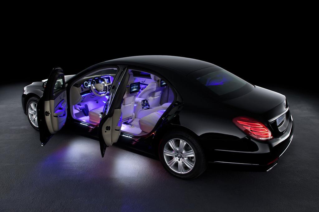 Das Sonderschutzmodell Mercedes-Benz S 600 Guard bietet zahlreiche Fahrassistenzsysteme