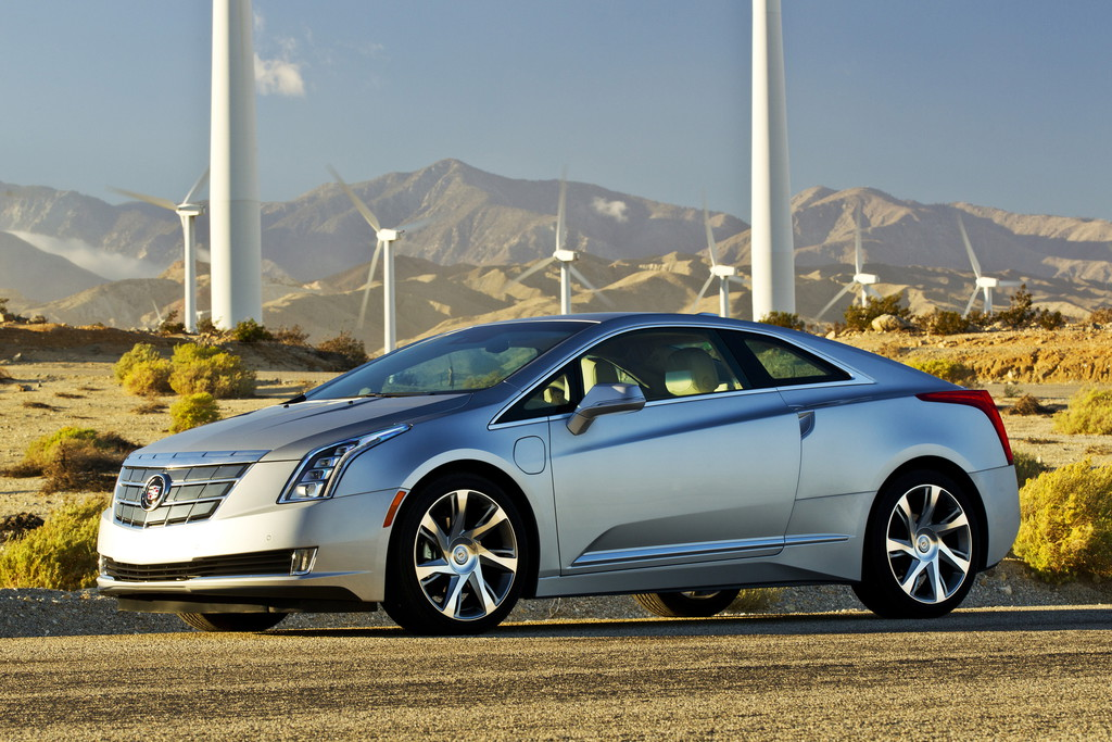 Der Cadillac ELR ist ein sehr kantiger Sportwagen