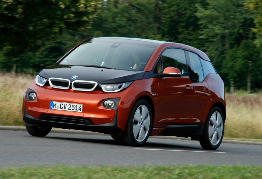 Elektro-Minivan BMW i3 bei den Tests