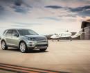 Standaufnahme von einem 2015er Land Rover Discovery Sport
