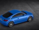 2015er Audi TT 8S in Blau