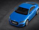 2015 er Audi TT 8S in Blau - Dachaufnahme