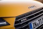 Der Singleframe-Grill des 2015er Audi TTS