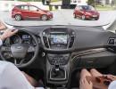 Das Cockpit des Kompaktvans Ford C-Max Facelift 2015