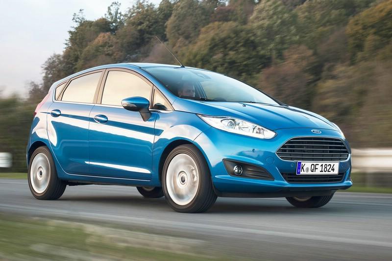 """die nochmals aufgewertete Ford Fiesta """"SYNC Edition"""""""