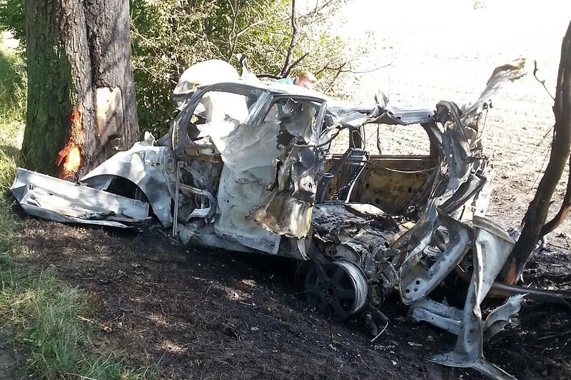 Ford Focus LPG nach Unfall Totalschaden