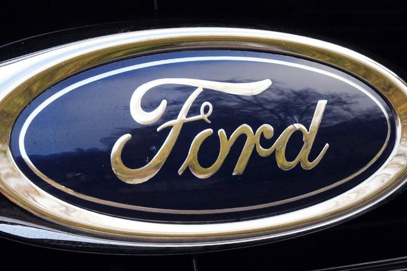 Das Logo des US-amerikanischen Autoherstellers Ford