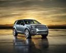 Front und Seitenpartie des neuen Land Rover Discovery Sport