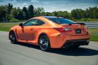 Lexus RC F bei den Tests auf der Rennstrecke