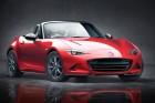 Der Kühlergrill des neuen Mazda Roadsters MX-5