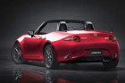 Mazda MX-5 4. Generation 2015er Modell bei geöffnetem Dach