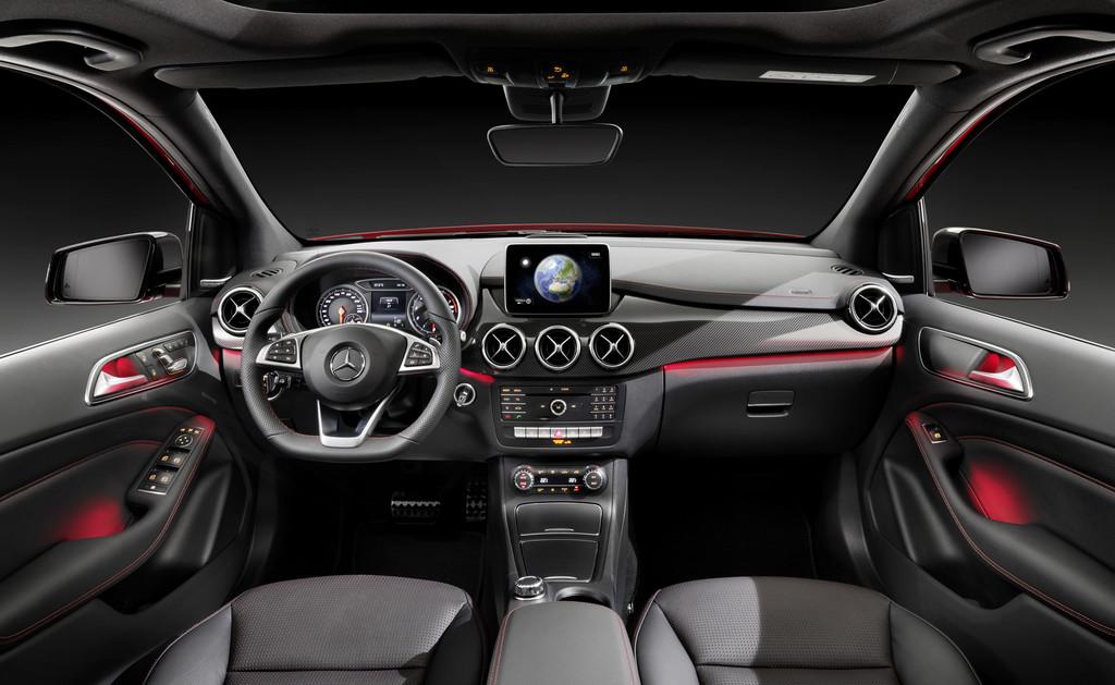 Armaturenbrett mercedes  Galerie: Mercedes-Benz B 250 CDI, Armaturenbrett | Bilder und Fotos