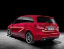 2015er Mercedes-Benz B 250 CDI in der Seiten- Heckansicht
