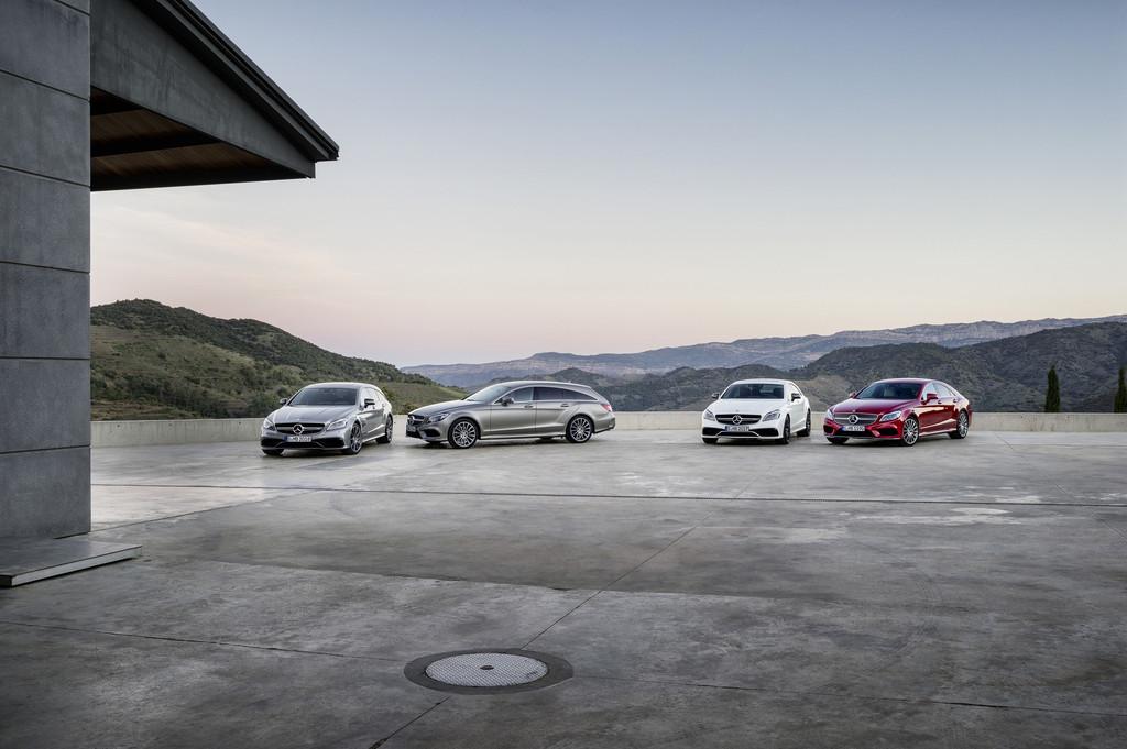 Der neue Mercedes-Benz CLS als Shooting Brake und als Coupé