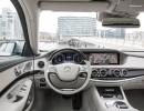 Lenkrad, Mittelkonsole und Navi des Mercedes-Benz S 500 Plug-in-Hybrid