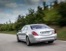 Mercedes-Benz S 500 mit Plug-in-Hybridantrieb in der Heckansicht