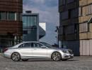 Die Seitenansicht des Mercedes-Benz S 500 Plug-in-Hybrid