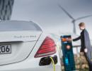 Aufladen eines Mercedes-Benz S 500 Plug-in-Hybrid