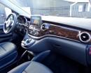 Der große Bildschirm im Mercedes-Benz V220 CDI