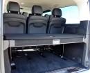 Der Kofferraum des Mercedes-Benz V220 CDI