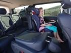 Umklappbare Sitze im neuen Mercedes-Benz V220 CDI