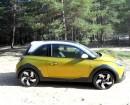 Probesitzen im neuen Opel Adam Rocks in der 115 PS-Version