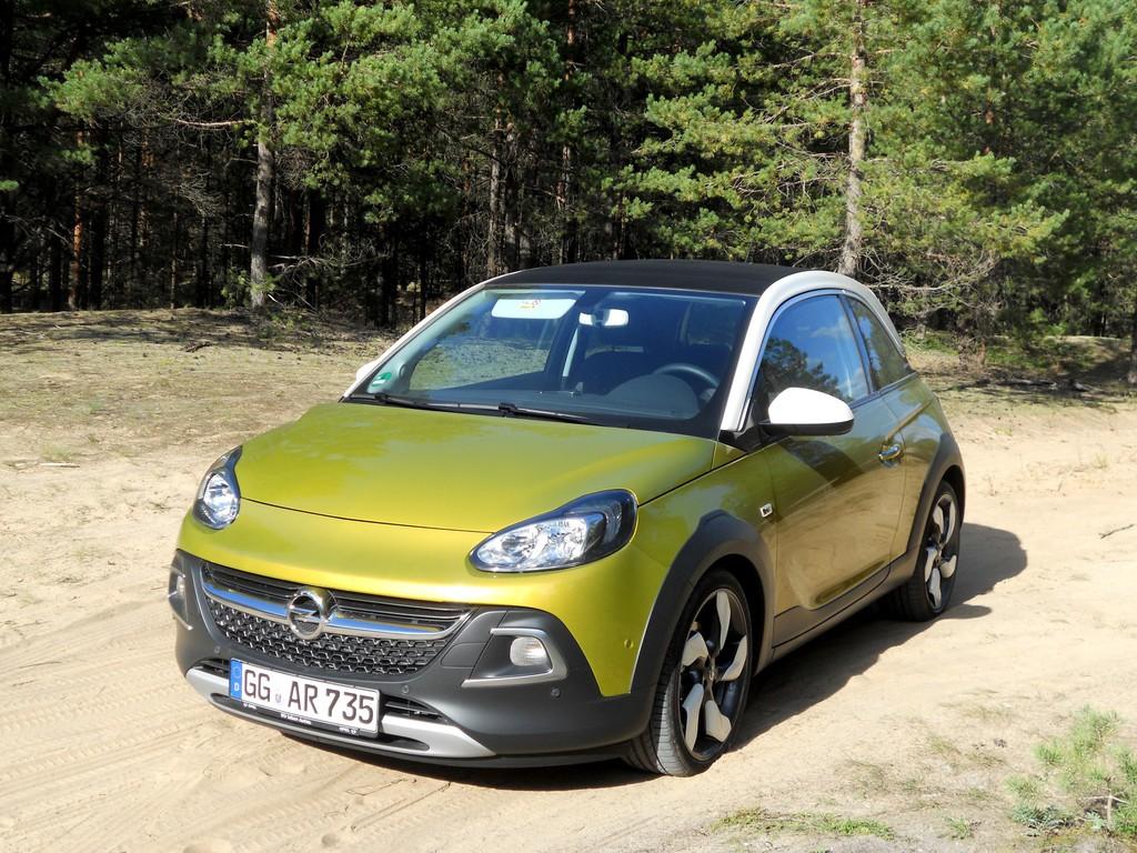 Der Opel Adam Rocks ist 1,5 Zentimer höher als der Standart-Adam