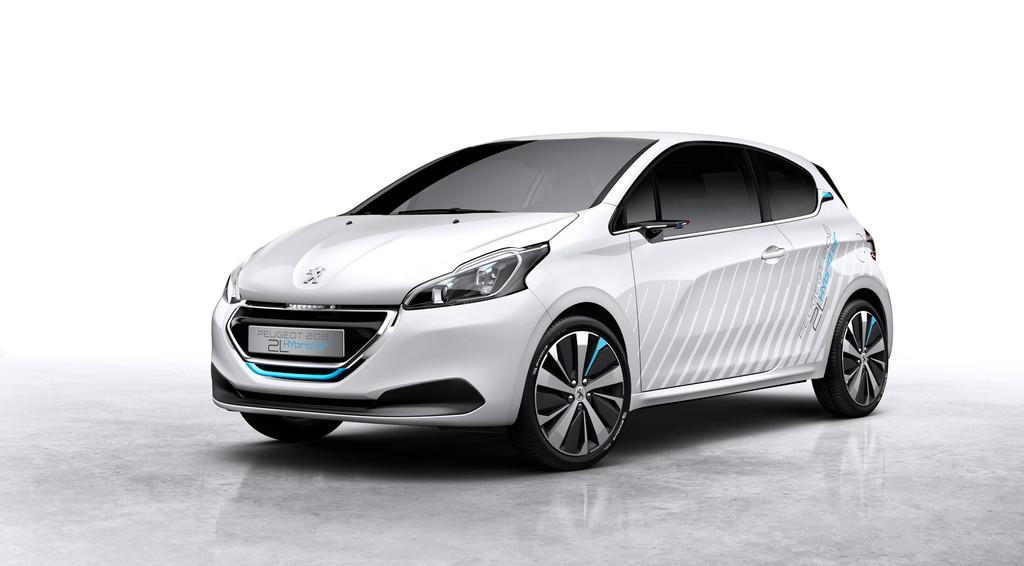 Peugeot 208 mit Drucklufttechnologie Hybrid Air