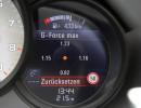 Der G-Force Monitor im neuen Porsche Boxster GTS