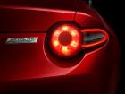 Die Rückleuchten des neuen 2015er Mazda MX-5