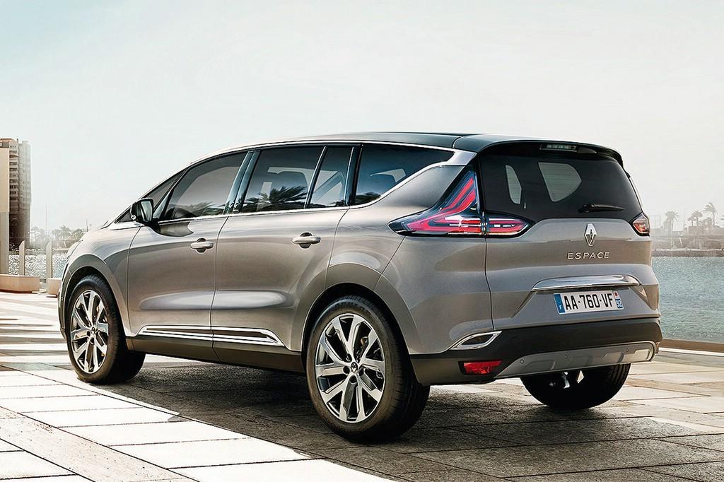 So kommt der neue Renault Espace 2015 (Heckansicht)