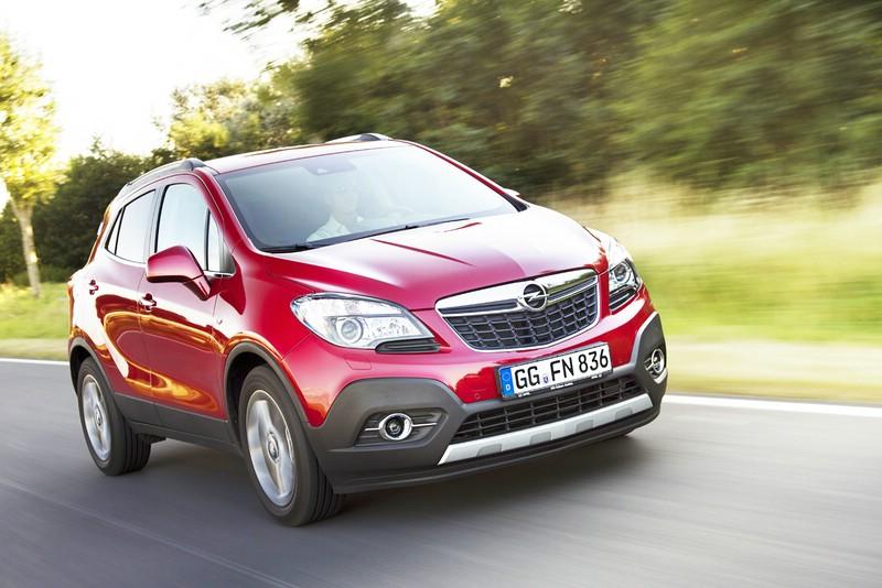 MINI-SUV Modell Mokka des Herstellers Opel