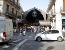 Fahren in der Stadt mit dem Seat Mii in Barcelona