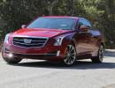 Die Vorderansicht des neuen Cadillac ATS Coupé
