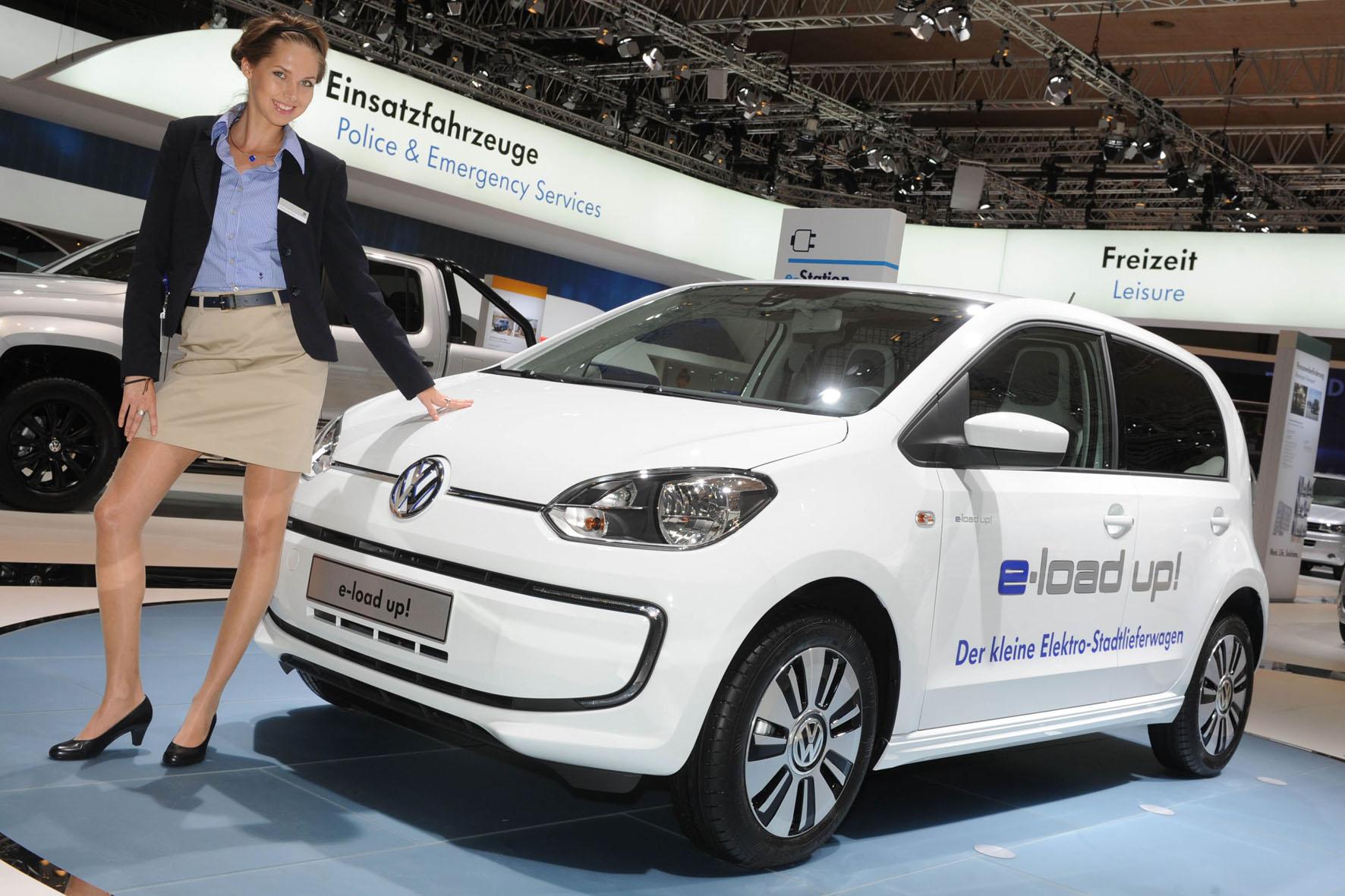 Auf der IAA 2014 präsentiert Hostess den VW e-load up